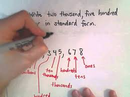 1 billion in standard form writing whole numbers in standard form english to number youtube