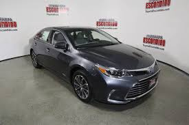 New 2018 Toyota Avalon Hybrid XLE Plus 4dr Car in Escondido ...