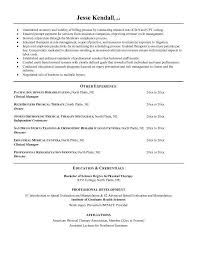 Occupational Therapy Resume Template Occupational Therapy Resume Template vasgroupco 56