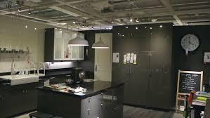 PARIS FRANCE CIRCA 2015 IKEA Furniture Store And Customers
