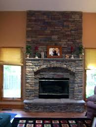 fireplace stone veneer stone over brick fireplace best stone fireplaces images on stone fireplaces stone veneer