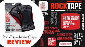 Rocktape Knee Sleeve Size Chart Rocktape Knee Caps A Review Fitness Town