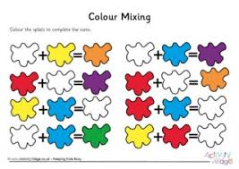 Primary Color Mixing Chart Colour Mixing Chart