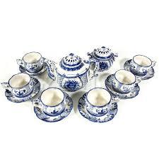 <b>Сервизы</b> Гжель – купить <b>чайный</b> или столовый <b>сервиз</b> | Фарфор ...