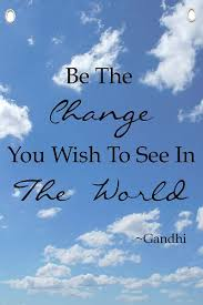 Quote On Change Inspiration Amazon Gandhi Quote Be The Change Motivational Quotes