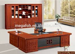 wooden office table. Modern Office Table Photos / Large Executive Wooden Desk (FOHS-A32159)