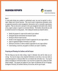 Short Business Report Sample Sample Business Reports Examples