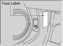 fuse locations fuses handling the unexpected honda fit fuse locations are shown on the label on