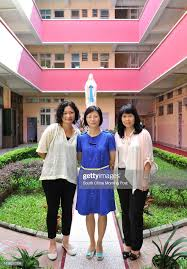 June Wong Mei-Kuen, leader of life education curriculum, Wendy Fung... News  Photo - Getty Images