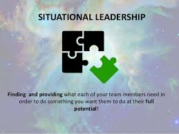 project management kick off presentation on situational leadership situational leadership