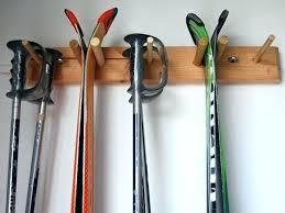 wall ski racks snow ski storage rack wall mount 2 skis a willow heights designs snow wall ski racks