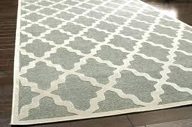 grey and cream area rug s blue gray trellis