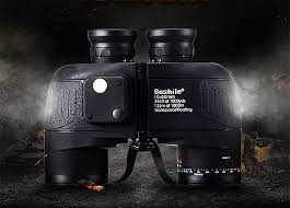 Boshile Military <b>Binoculars 10X50</b> Rangefinder &Compass ...