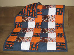Crafters in the Sky: Chicago Bears Baby Quilt & Chicago Bears Baby Quilt Adamdwight.com