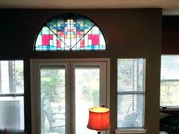 decorative window stained glass pattern panels home depot faux rolls set