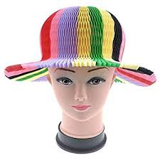 Paper Flower Hats Amazon Com 10pcs Set Lovely Diy Fashion Neutral Paper Sun