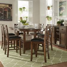 dining room chairs counter height. tuscany brown wood wine rack counter height extending dining table set by inspire q classic room chairs s