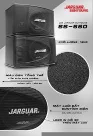Loa Karaoke JARGUAR SS-660 - Hàng chính hãng - Loa karaoke Thương hiệu  Jarguar Suhyoung