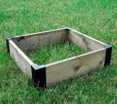 box garden. Exellent Garden Small Corner Brackets Raised Bed Bedding Vegetable Planet Box Garden X 4   Black And