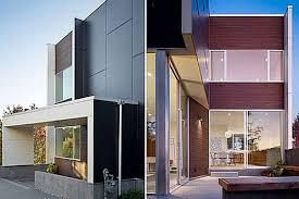 Facades Contemporary Modern Residential House Home Decor Target Home