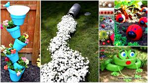 Diy Backyard Projects 34 Cheap Diy Art Projects To Beautify Your Backyard Landscape