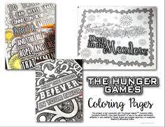 Small Picture The Hunger Games Coloring Pages Book Hunger games Coloring