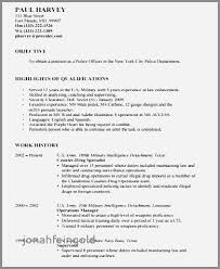 Legal Resume Objective Cool Good Resume Examples For Law Enforcement New Resume Objective