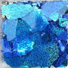 art with broken glass pieces colored safety red blue coffee orange mix mosaic table abstract photograph broken glass mosaic