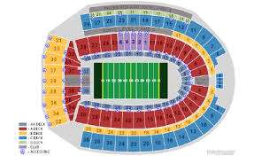 Ohio Stadium Seating Chart Ohio State University Football Stadium Seating Chart Www