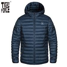 Tiger Force Plus Size <b>Men Spring Autumn</b> Jacket Men's Parka Solid ...