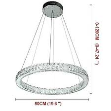 led ring ceiling light pendant lights modern chandeliers lighting chandelier lamp with remote control outdoor
