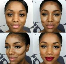 makeup tutorials for dark skin tone apk screenshot