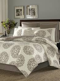 com stone cottage medallion cotton sateen duvet cover set king home kitchen