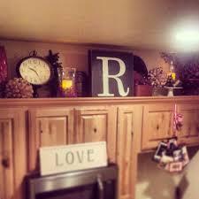 decor kitchen kitchen: above cabinet kitchen decor crafty mally a