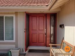 Entrance Doors And Side Panels Double Door Exterior Hardwood Frame