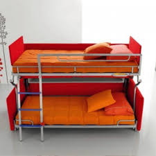 Furniture Couch Converts To Bunk Bed