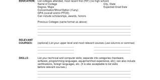 Free Printable Fill In The Blank Resume Templates Resume Awesome Free Printable Resume Builder Best Free Resume CV 46