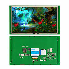 10.1 Inch Touch Screen <b>STONE LCD Display</b> with RS232 Interface ...