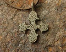 fine authentic scandinavian cross pendant vikings 10th 11th c ad authentic viking artifact jewelry jewellery necklace historical gifts