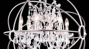 crystal globe chandelier on home remodel ideas with