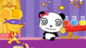 Baby Panda Color Games Kids Learn Colors With Baby Bus Magical