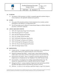 Design Control Procedures Bundle