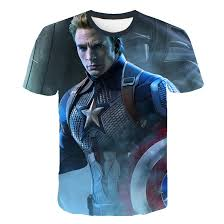 <b>Men's</b> Clothing <b>summer fashion cool</b> 2019 avengers END GAME 4 ...