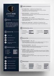 Innovative Resume Templates Modern Resume Template Single Page Resume Template Cover Letter 6