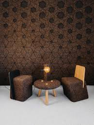 cork furniture. of modern yet playful furniture their cork wall surfaces will no doubt make you want to reach out and touch just confirm theyu0027re not made fabric