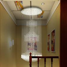 get ations 80 240 cm simple double staircase light long chandelier modern villa living room lobby