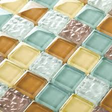 get ations wave glass tile backsplash mosaics decor mixed color mesh uk crystal kitchen bathroom ideas wall