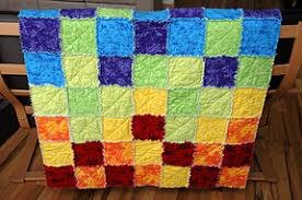 jen yu: flannel rag quilt &  Adamdwight.com