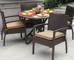 furniture scenic round patio table and chairs large round round outdoor furniture set