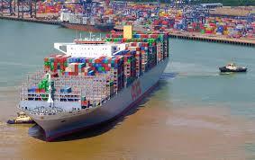 Im april 1956 fuhr das erste containerschiff von new jersey nach texas. Die Zehn Grossten Containerschiffe Der Welt 2017 Verkehrsrundschau De